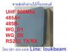 UHF 900Mhz หัวอ่าน reader สำหรับเปิดไม้กั้นรถยนต์ 5-7เมตร UHF long range reader