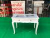 โต๊ะเพ้นเล็บสีขาวสไตล์วินเทจ สินค้าจัดรายการราคา 3900 จากราคา5500 ราคาถูกจากโรงงาน