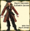 Pirates of the Caribbian 2 - Prirates Disguised Elizabeth Swann