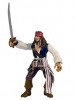 "Pirates of the Caribbian 2 - Sword Slashing Jack Sparrow 7"""