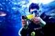 """ซันโย"""" บุกสยามโอเชียนเวิลด์ ทดสอบกล้องวิดีโอกันน้ำ Xacti VPC-CA100"""