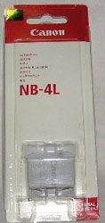 Canon Lithium Battery NB-4L