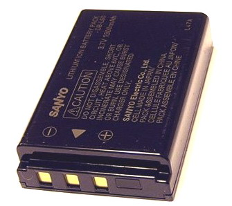 Sanyo Original Lithium-ion Battery DB-L50 for VPC-HD2000