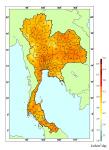 แผนที่ศักยภาพพลังงานแสงอาทิตย์ของประเทศไทย (พ.ศ. 2542)