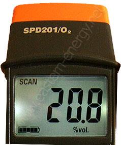 เครื่องวัดออกซิเจน Oxygen Meter O2