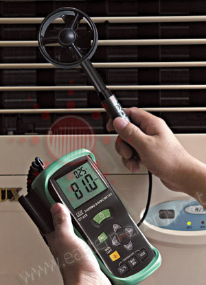 Anemometers Air velocity Meters เครื่องวัดความเร็วลม