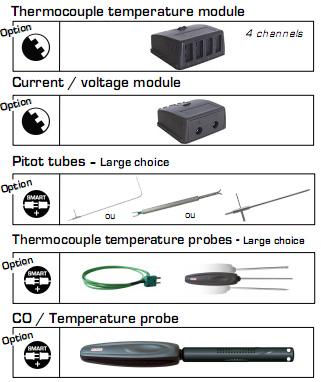 เครื่องวัดความดัน ความเร็วลม Pressure, Air Velocity, Air Flow, Temperature Meter