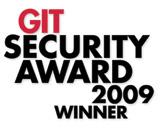 GIT SECURITY AWARD 2009 WINNER