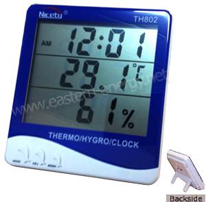 เครื่องวัดอุณหภูมิ และความชื้น Hygro-Thermometer, TH802