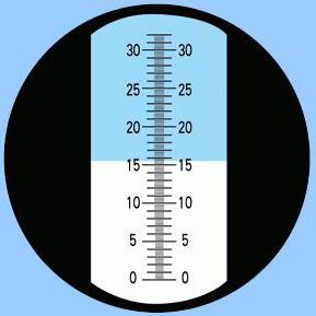 เครื่องวัดค่าวัดความหวาน (Refractometer) รุ่น RHBN-32ATC