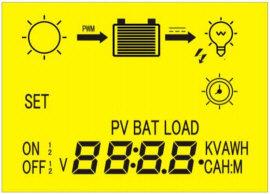 SOLAR CONTROLLER - LCD DISPLAY