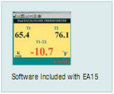 Software Included with EA15