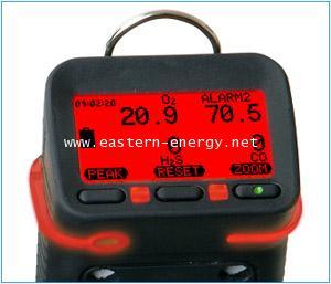 เครื่องวัดแก็ส Gas Detector Oxygen H2S LEL CO