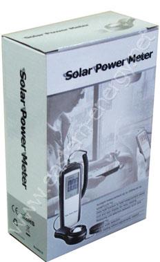 เครื่องวัดแสงอาทิตย์ - Solar Power Meter - Sun Meter