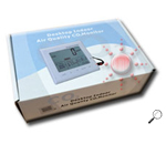 เครื่องวัดอุณหภูมิ ความชื้น CO2 & TEMP. & %RH รุ่น DT-802