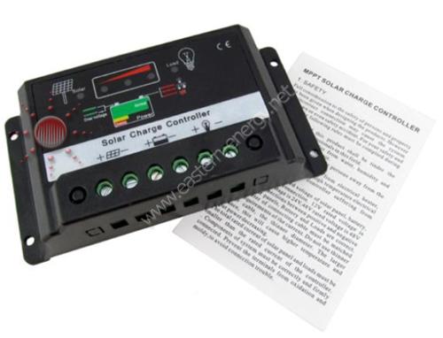 ชุดควบคุมการชาร์จไฟ โซล่าเซลล์ solar charge controller รุ่น 5A