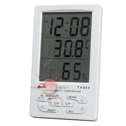 เครื่องวัดอุณหภูมิ ความชื้น Big Digit Hygro-Thermometer, ตัวเลขแสดงผลขนาดใหญ่ 1 นิ้ว