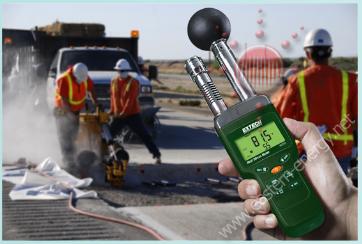 HT200: Heat Stress WBGT (Wet Bulb Globe Temperature) Meter
