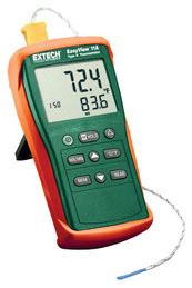 EA11A: EasyView™ Type K Single Input Thermometer ยี่ห้อ Extech, USA