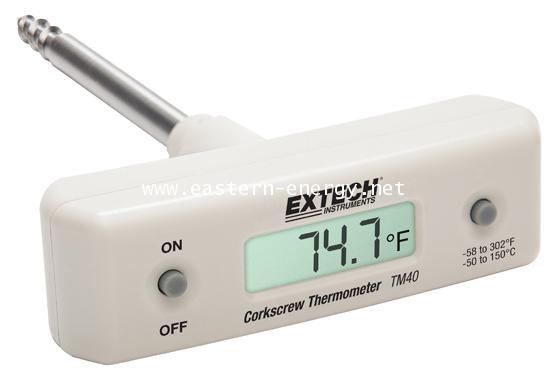 TM40 - Corkscrew Stem Thermometer