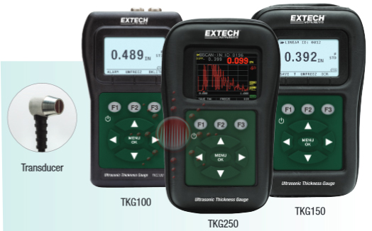 Applications: Ultrasonic  Thickness Gauges