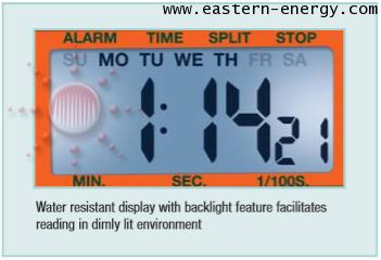Extech 365515 : นาฬิกาจับเวลา Stopwatch /Clock with Backlit Display