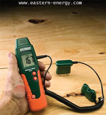 เครื่องวัดความชื้นในเนื้อไม้วัสดุ Moisture Meter รุ่น MO220 Extech, USA