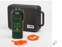 เครื่องวัดความดันลม Manometer ; Differential Pressure