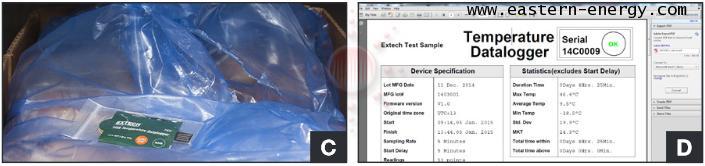 เครื่องบันทึกอุณหภูมิ One-Time use USB Temperature Dataloggers THD5:EXTECH