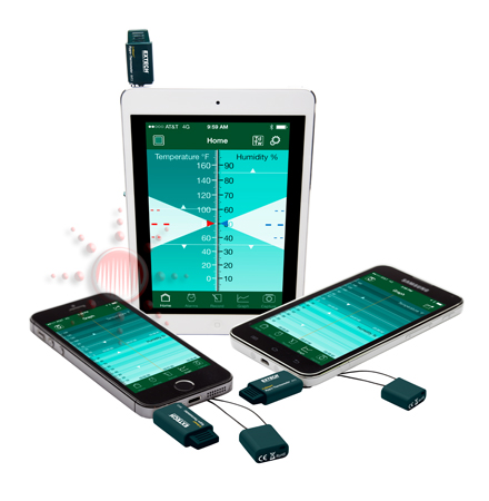 EXTECH : RHT3: EzSmart™ Hygro-Thermometer