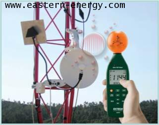 480846: 8GHz RF Electromagnetic Field Strength Meter Monitors high frequency radiation in the 10MHz to 8GHz frequency range