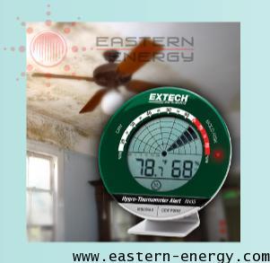 เครื่องวัดอุณหภูมิความชื้น แจ้งเตือนรูปทรงเรดาร์ Desktop Hygro-Thermometer Alert รุ่น RH35