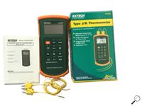 เทอร์โมมิเตอร์ Type J/K, Dual Input Thermometer with Alarm รุ่น 421502