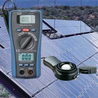 2in1 เครื่องวัดแสงอาทิตย์ และ มัลติมิเตอร์ Solar Power - Multimeter รุ่น LA-1017
