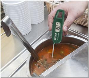 เครื่องวัดอุณหภูมิในอาหาร ของเหลว เนื้อสัตว์ ผลไม้ Food Thermometers