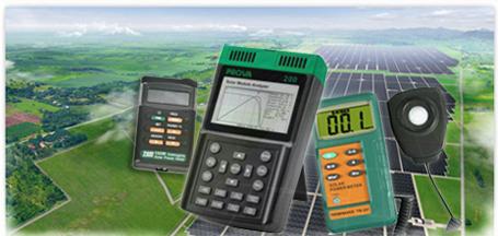 เครื่องวัดแสงอาทิตย์ Solar Power Meter