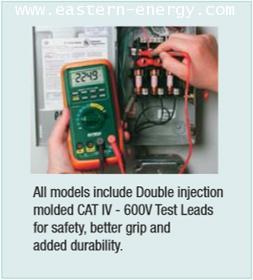 ดิจิตอล มัลติมิเตอร์ Extech MP530A: MultiPro® High-Performance MultiMeter
