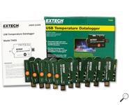 EXTECH THD5 เครื่องบันทึกอุณหภูมิ One-Time use USB Temperature Dataloggers