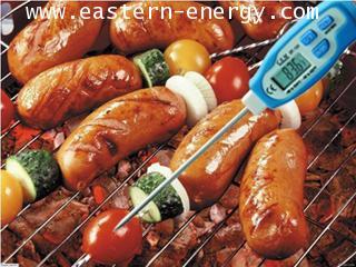 เครื่องวัดอุณหภูมิ ในอาหาร ของเหลว, เนื้อสัตว์แช่แข็ง, อาหารแช่แข็ง, ผลไม้, ดิน