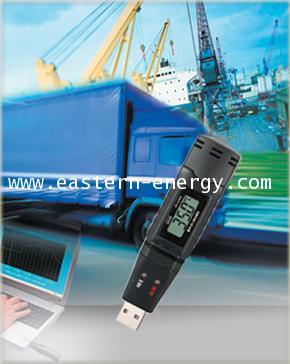 เครื่องบันทึกอุณหภูมิ ความชื้น Datalogger USB with LCD display รุ่น DT-171E