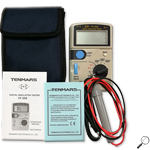 Tenmars YF-509: เครื่องวัดฉนวนไฟฟ้า Insulation Meter, MΩ Tester, เมกะโอมห์