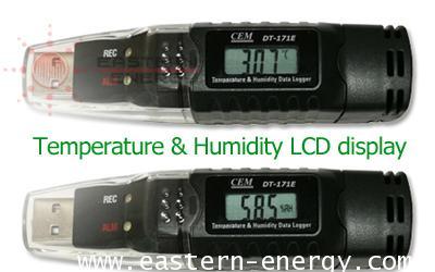 CEM DT-171E : Temperature Humidity USB Datalogger รุ่น DT-171E