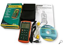Extech EA15: EasyView™ Dual Input Temperature Datalogger