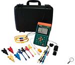 Extech PQ3350: 3-Phase Power & Harmonics Analyzer