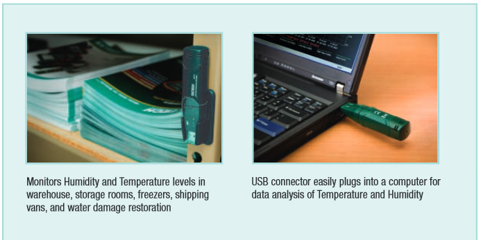 RHT10: Humidity and Temperature USB Datalogger