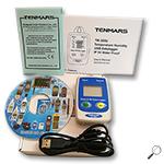 Tenmars TM-305U :เครื่องบันทึกอุณหภูมิ ความชื้น Humidity-Temperature Datalogger