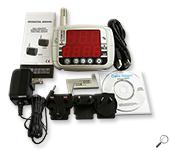 AZ-instrument 8809 Temp.&RH% Logger-LED เครื่องบันทึกอุณหภูมิความชื้น