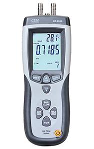 เครื่องวัดปริมาตรลม ปริมาณลม ความเร็วลม CFM/CMM แบบ Pilot Tube