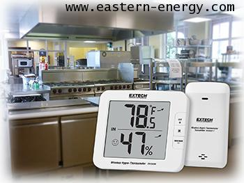 Extech RH200W: Multi-Channel Wireless Hygro-Thermometer เครื่องวัดอุณหภูมิ ความชื้น  แบบไร้สาย