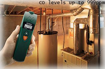 Extech CO15: Carbon Monoxide (CO) Meter เครื่องวัดก๊าซคาร์บอนมอนนอกไซด์
